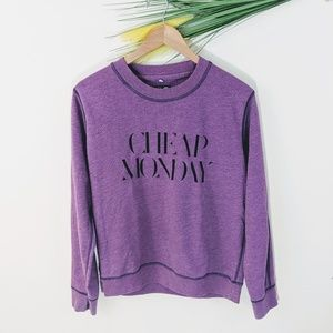Cheap Monday Ellie sweat purple